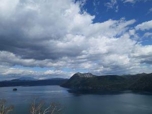 今日の摩周湖、迫力満点