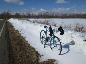 雪はあるけれど、気分は春・・・