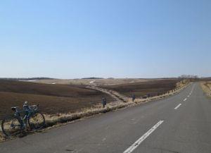 片無去の牧草地