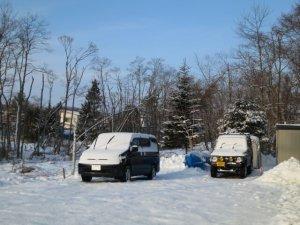 雪がある方が北海道の正月らしい