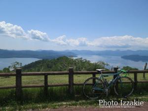 藻琴山からの屈斜路湖