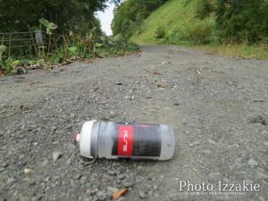 寂しく転がってるボトル