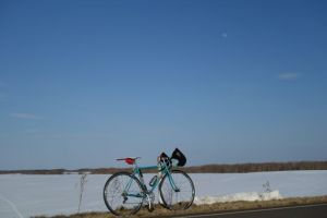 北海道は空が広いね~♪