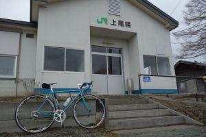 久しぶりに登場、上尾幌駅