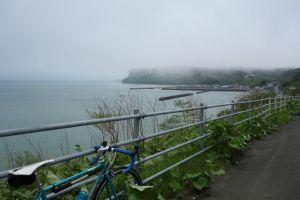仙鳳止の上は海霧