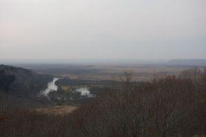 釧路湿原らしいどんより風景