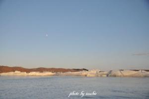 月と御神渡り1