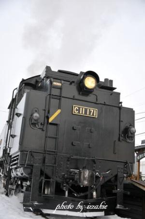 SL冬の湿原号2019試運転1