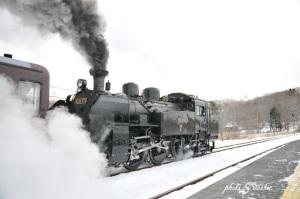 SL冬の湿原号2019試運転2
