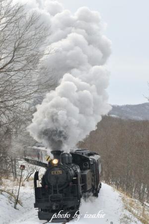 SL冬の湿原号2019試運転3