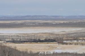 今日のSL冬の湿原号