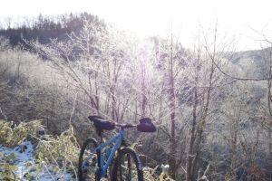 霧氷とNiner