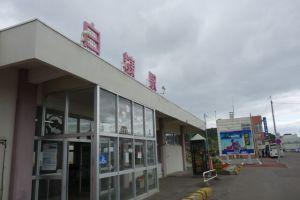 白糠駅とバスターミナル