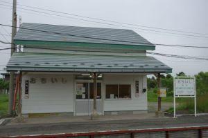 落石駅(ホームから)