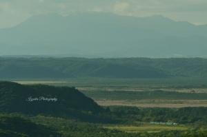 釧路湿原をゆくノロッコ号(意外に速いですw)