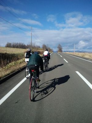 鶴居村へ向かう途中
