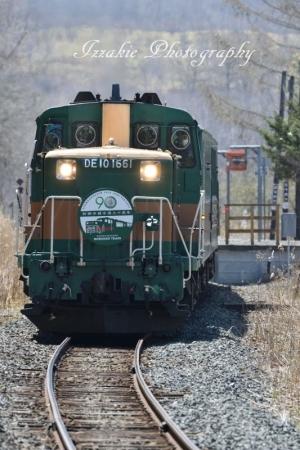 釧網本線全通90周年のHMです